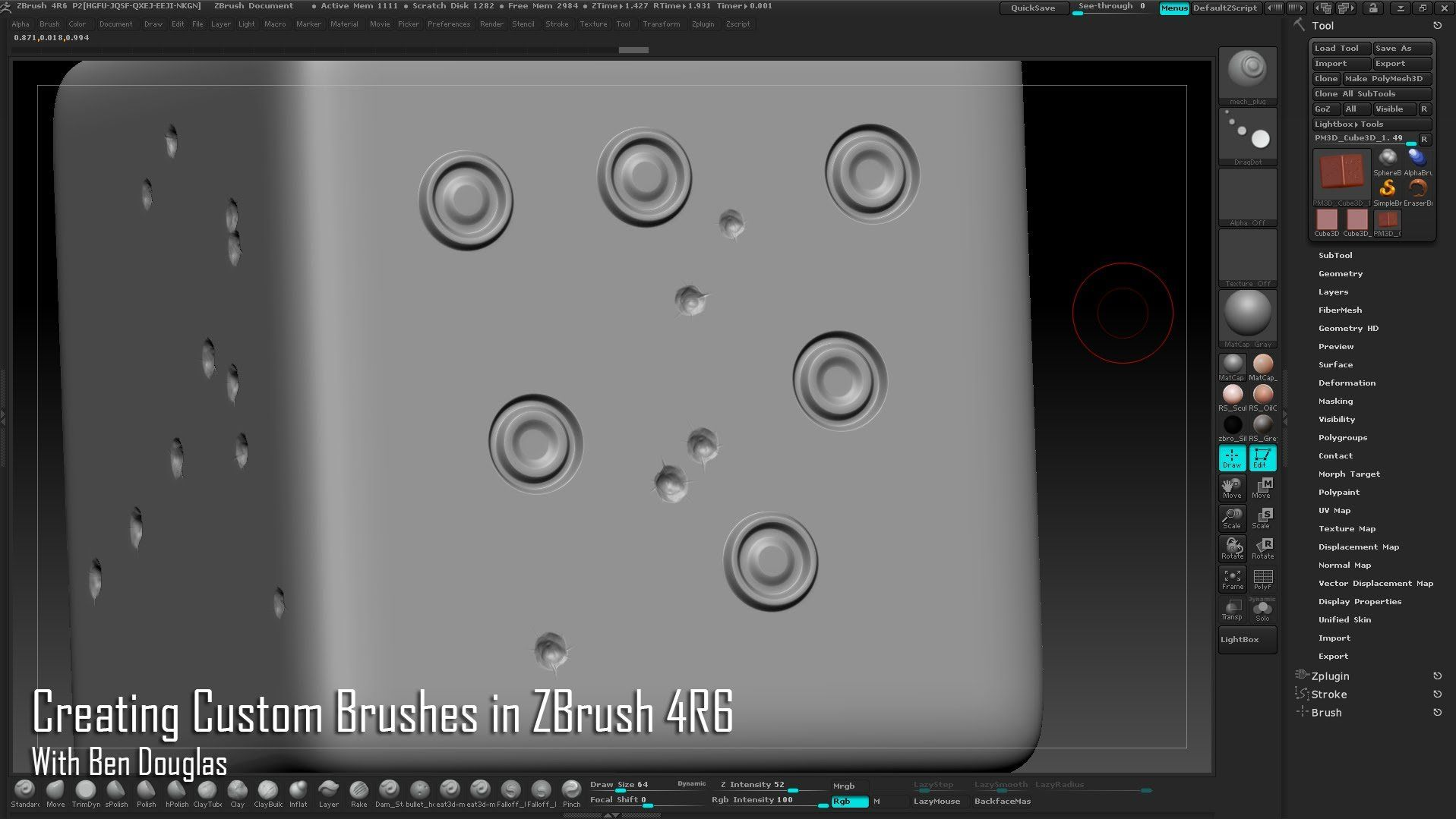 20+ Custom Zbrush Brushes Pictures and Ideas on Weric