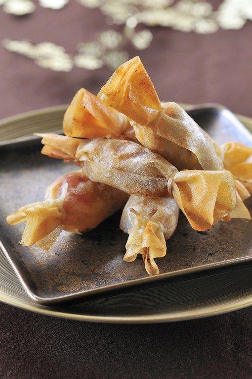 des bonbons de dinde au foie gras une bonne id e servir. Black Bedroom Furniture Sets. Home Design Ideas
