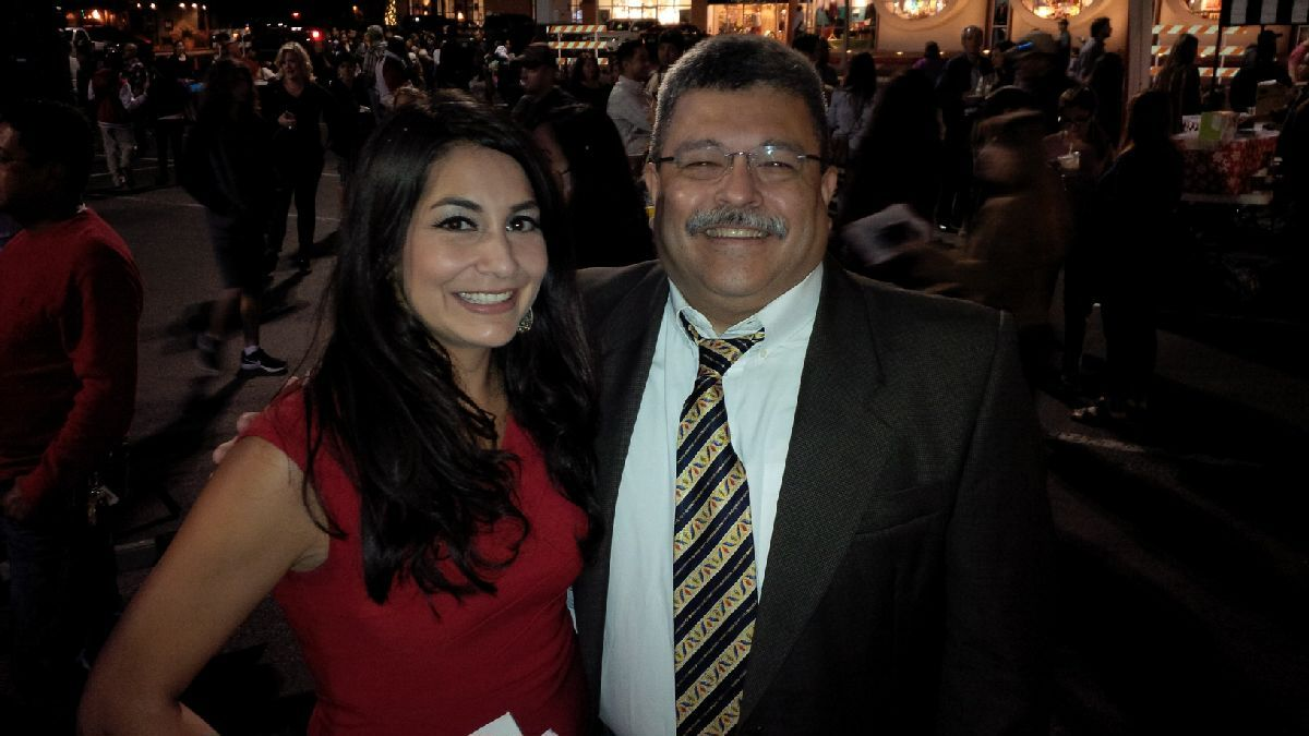 Hard hitting KSAT-TV news reporter Stephanie Serna is a real