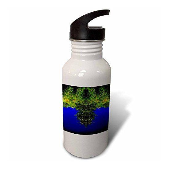 TREE BEARD FACE - Flip Straw 21oz Water Bottle  Link: