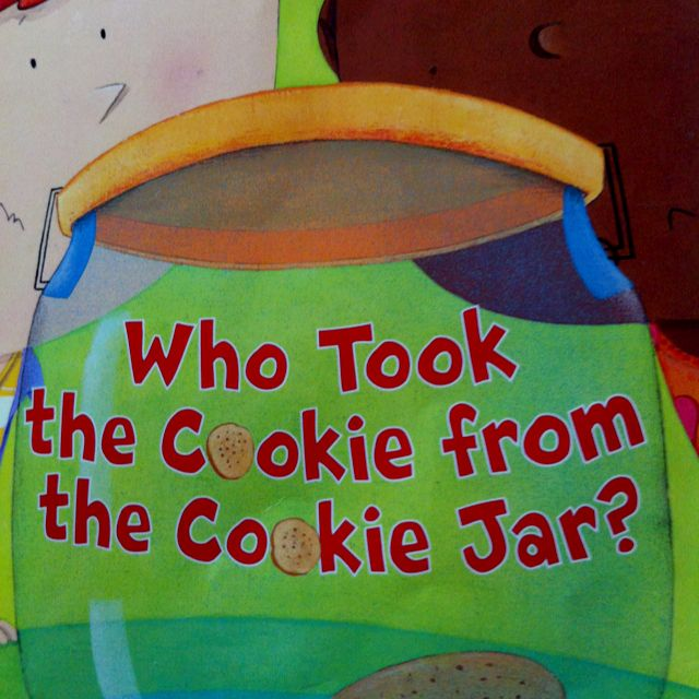 Who Took The Cookie From The Cookie Jar Book Who Took The Cookie From The Cookie Jar   Children's Books