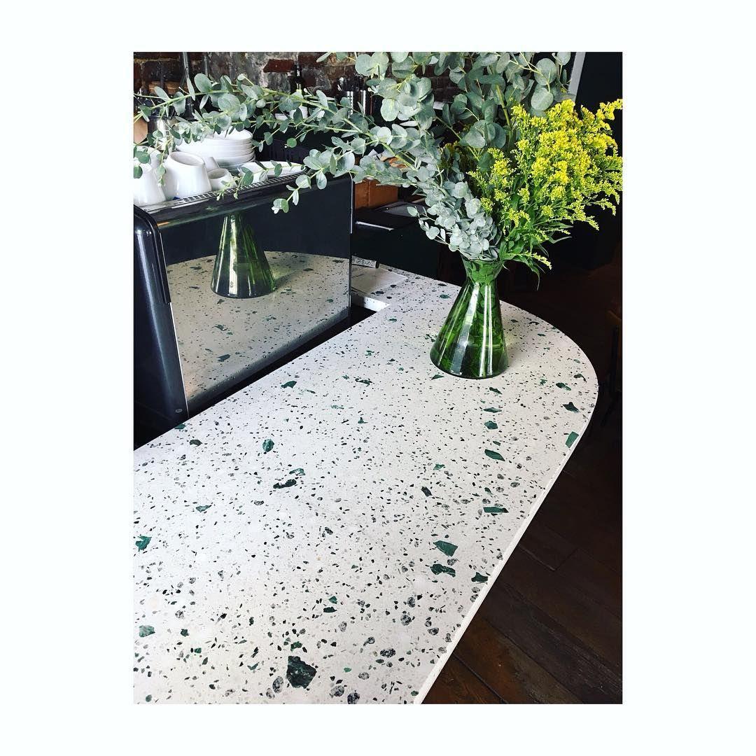 Terrazzo Countertop Terrazzo Cafe Design Granite