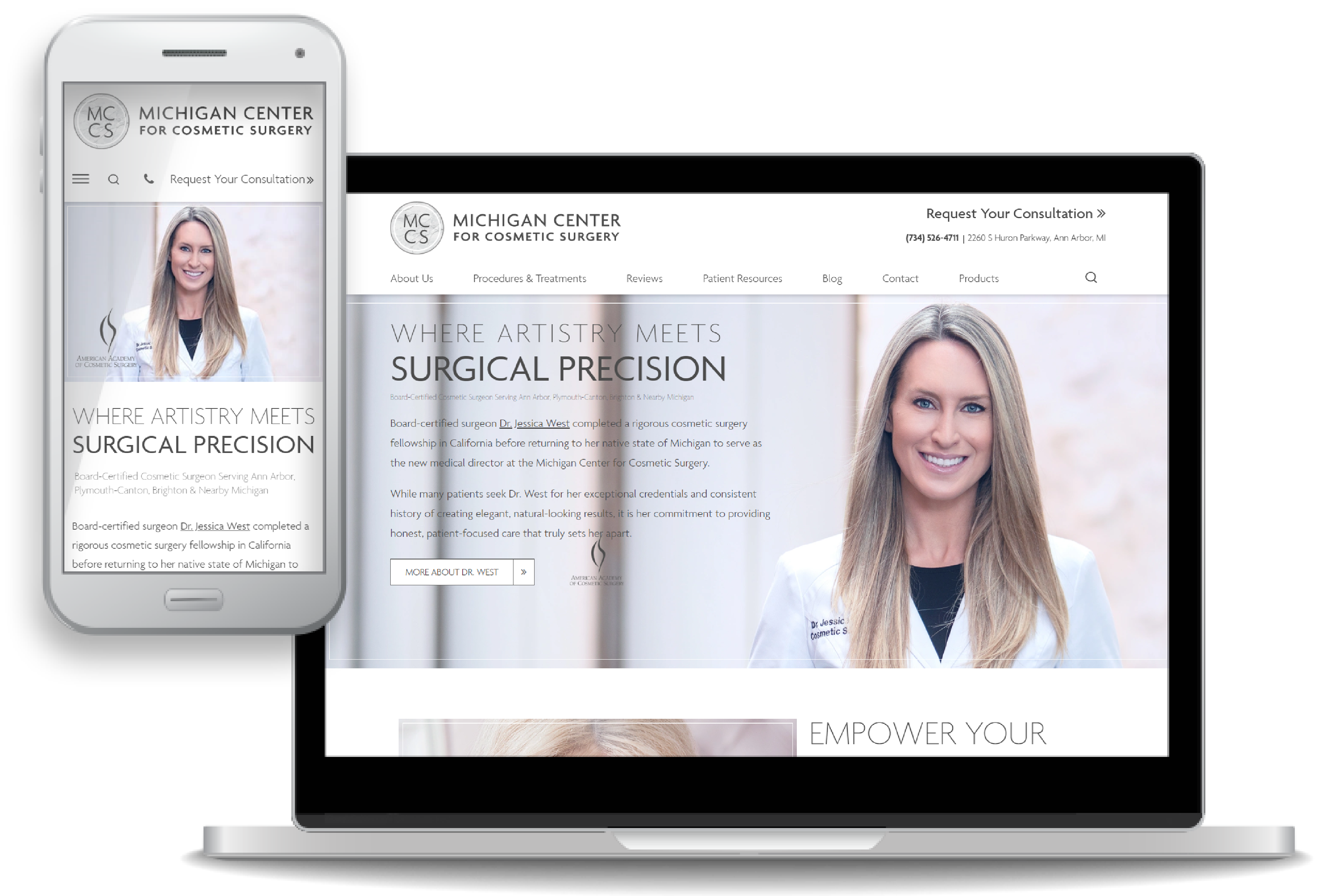 Web Design Digest Cosmetic Surgery October 2019