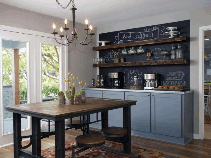 Best Kitchen Matte Grey Kitchen Cabinet Chalkboard Wallpaper 400 x 300
