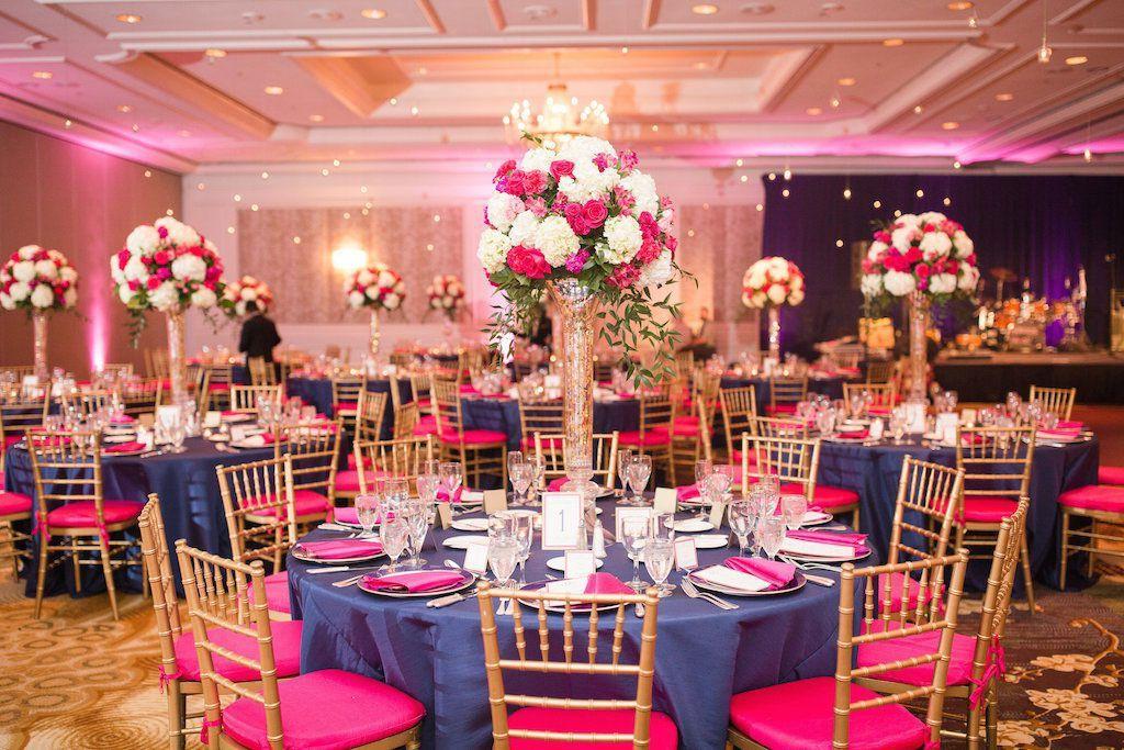 Pink And Blue Wedding Reception Choice Image - Wedding Decoration Ideas