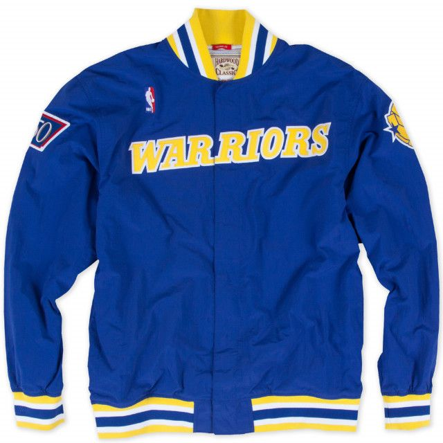 3ac0c36e6 1996-97 Authentic Warm Up Jacket Golden State Warriors