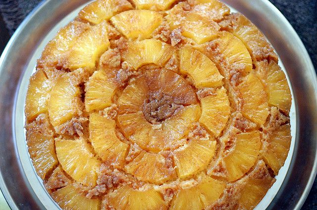 Pineapple Upside Down Cake All The Recipes Pineapple