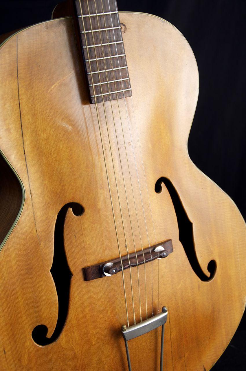 Vintage 1948 Epiphone Zenith Archtop Acoustic Guitar Acoustic Guitar Epiphone