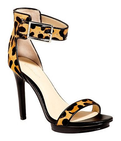 Platform sandals, Wrap shoes