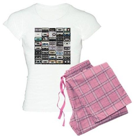 Cassette Tapes Pajamas on CafePress.com