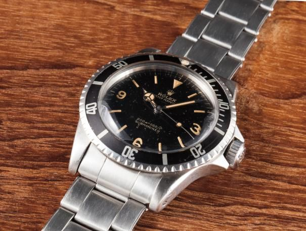 CH080215, Rolex, A very rare stainless steel wristwatch ...