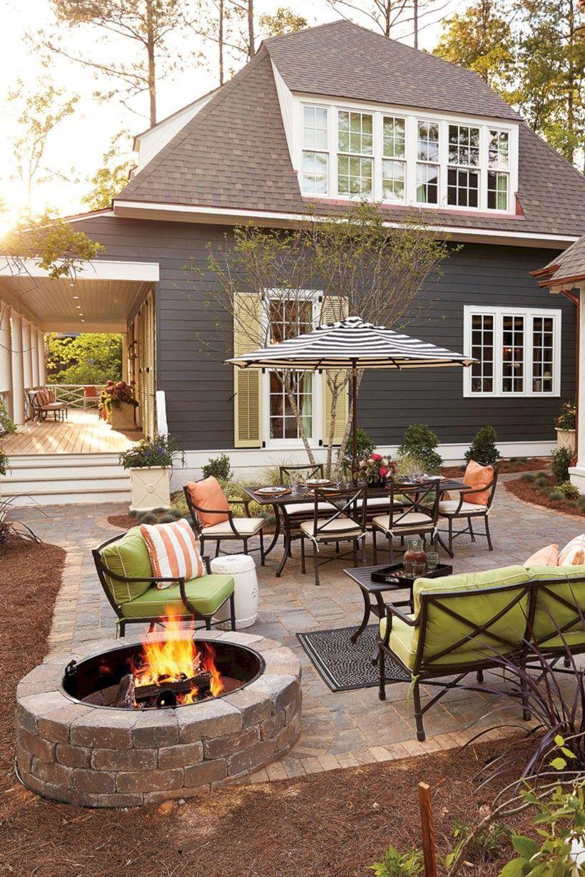 64 Lovely Patio Outdoor Space Ideas on a Minimum Budget #schönegärten