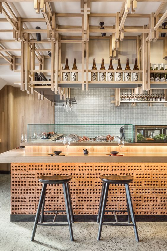 Japanese restaurant design #restaurantdesign interior in 2018