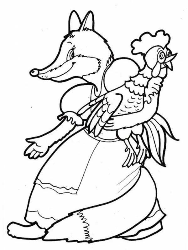 раскраски сказка м золотой петушок сказка детские
