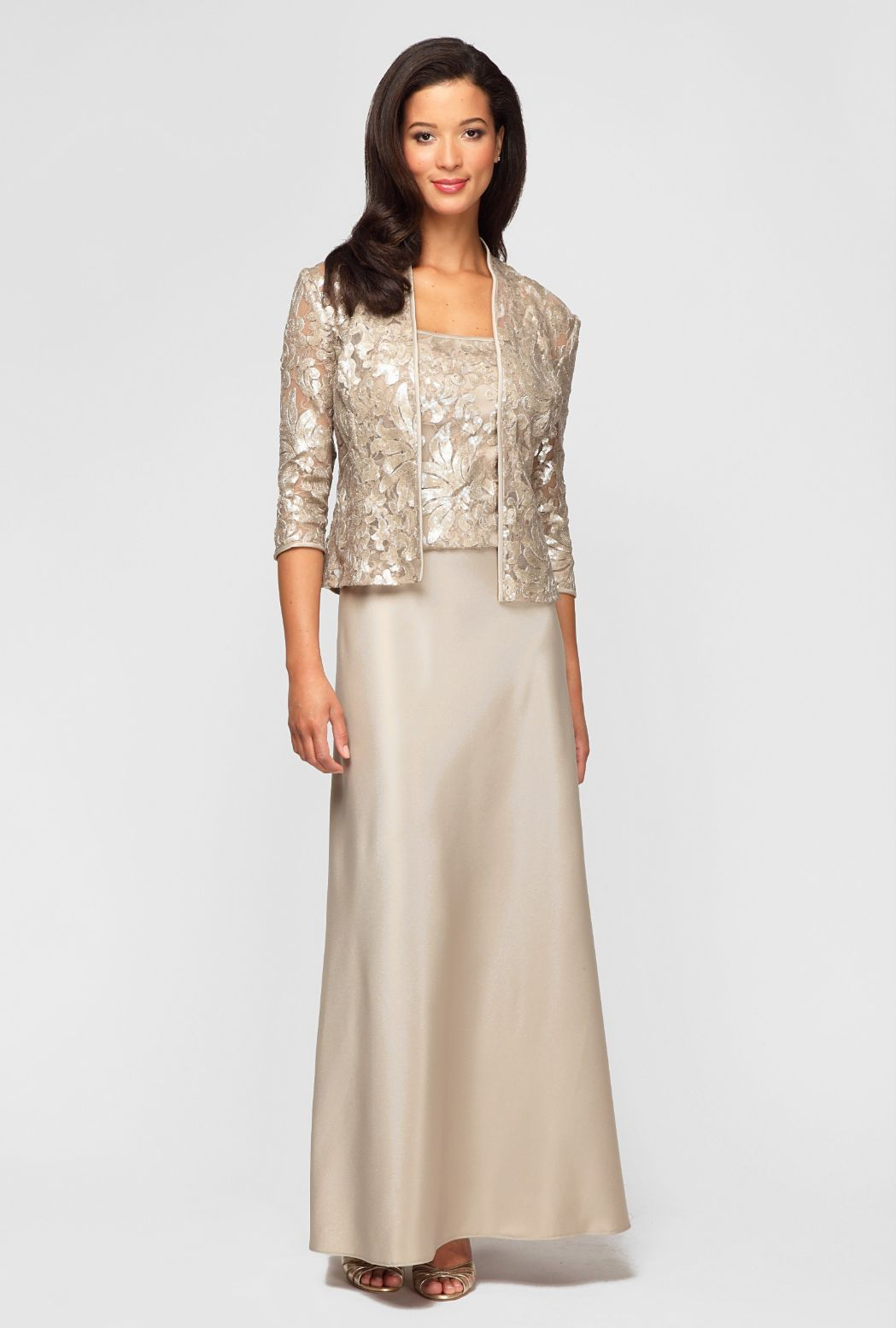 Alex Evening Gowns For Mother Of The Bride Alex Evenings 496393