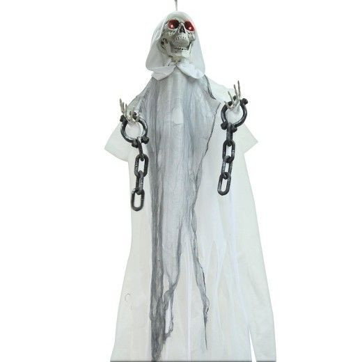 ANIMATED HANGING WHITE REAPER IN CHAINS ***762543748039*** \u20a140000