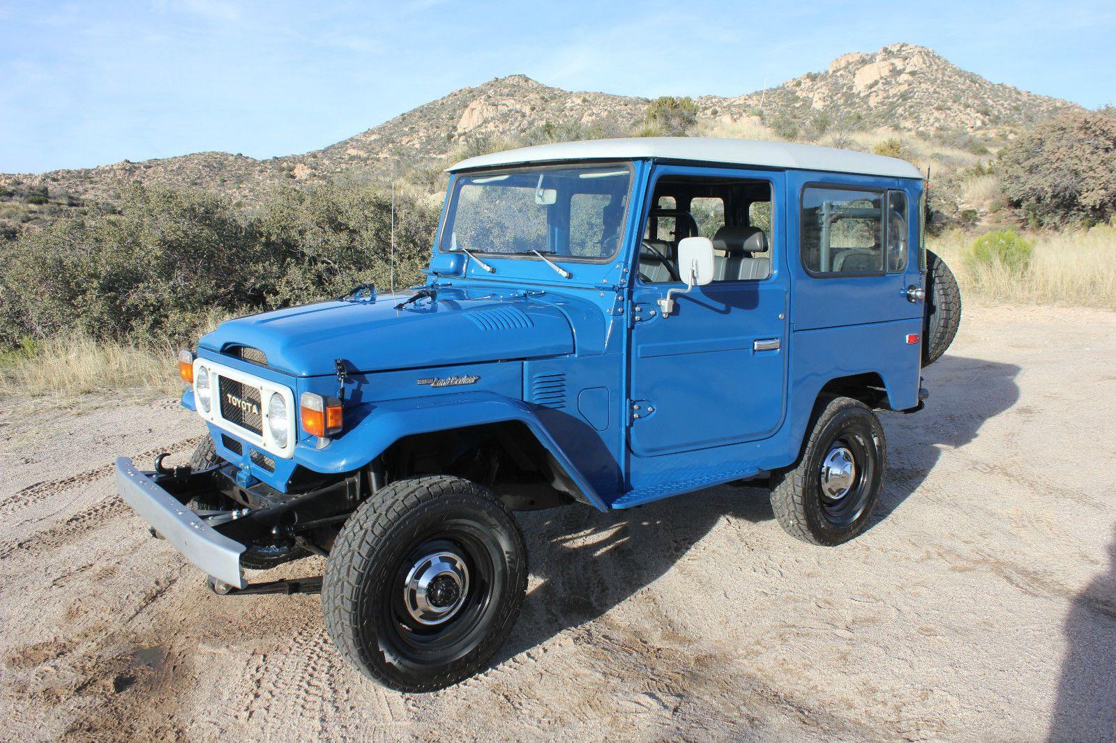 1980 fj40 blue toyota Land Cruiser a | Land Cruiser Of The Day!