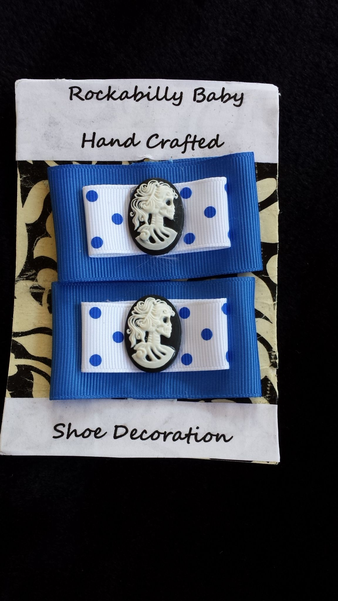 Hand made Shoe clip. Decorate your Heels