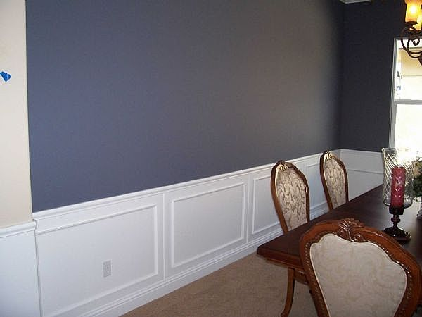 dining room paint ideas with chair rail my life in color inspiration friday chair. Black Bedroom Furniture Sets. Home Design Ideas