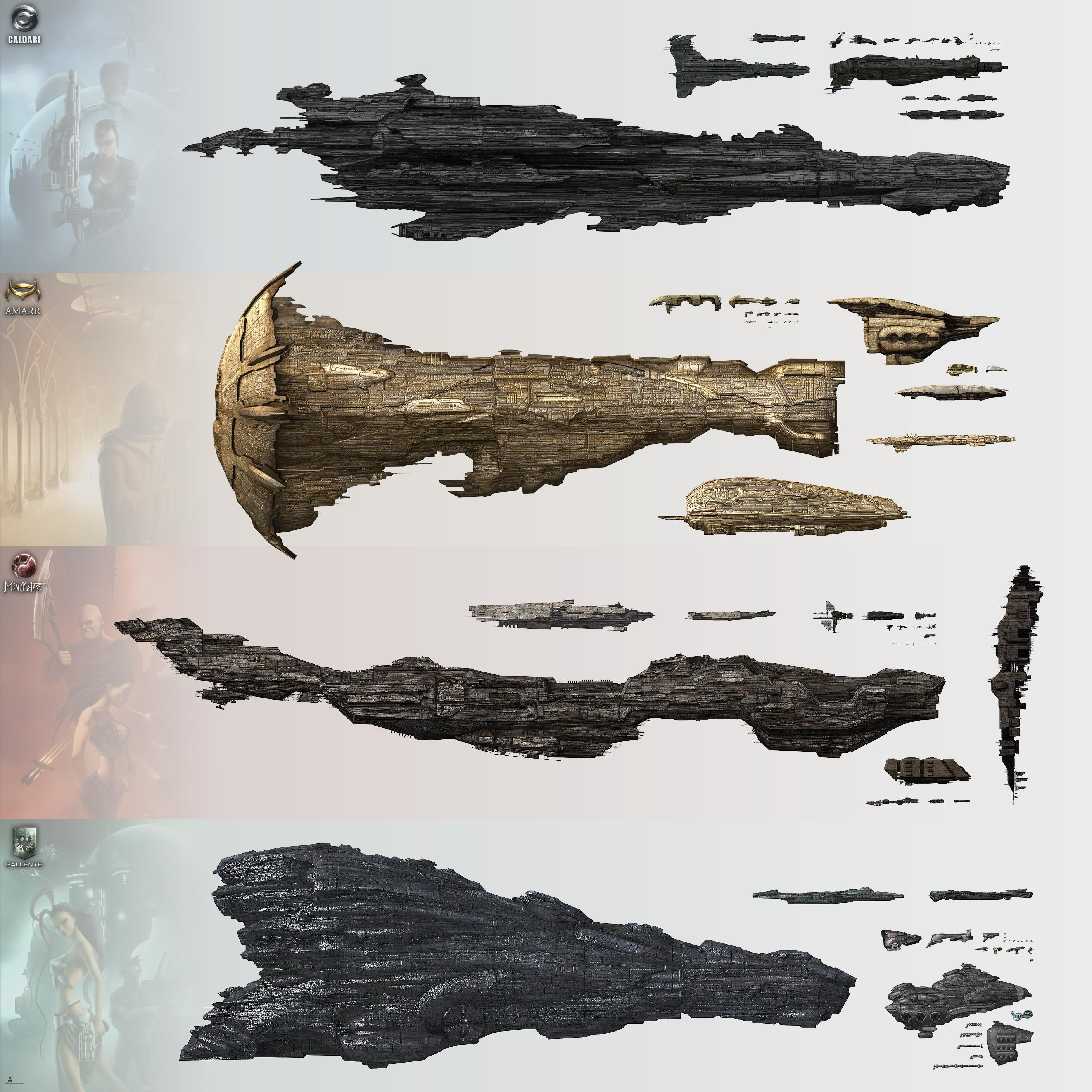 hight resolution of eve ship size diagram