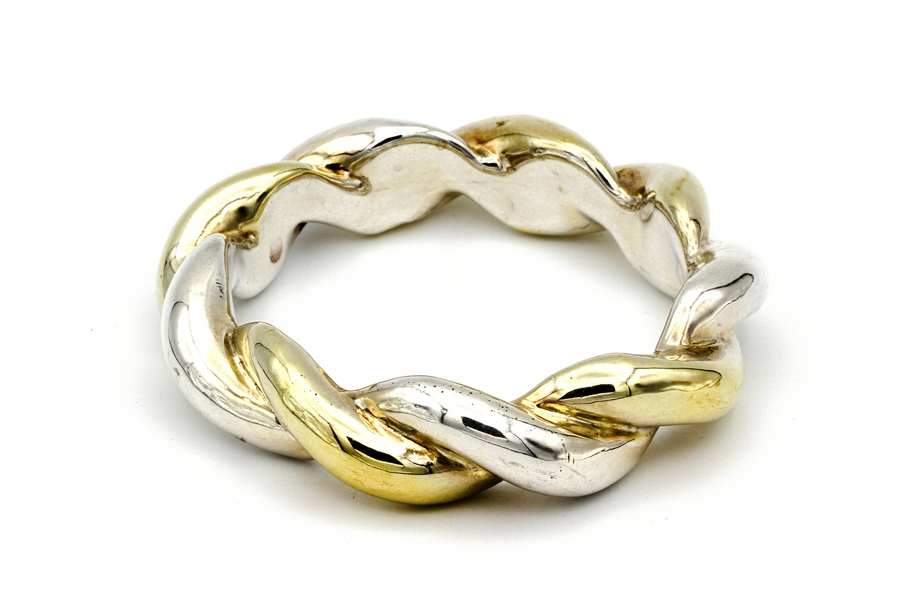 bracelet sterling bracelets products navajo silver and gold top vintage bangle bangles