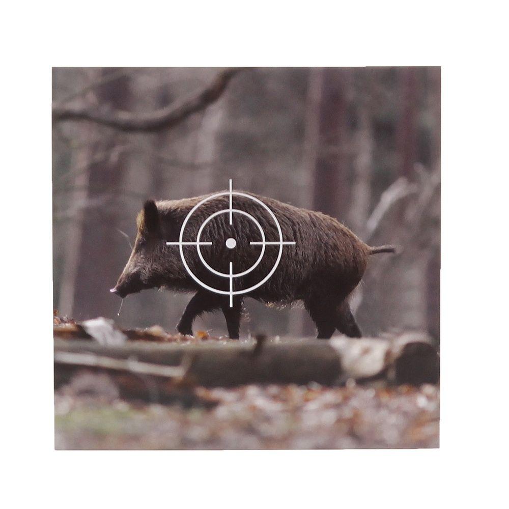 Wildschwein Fuchs 3 x Zielscheibe Schießscheibe Karton Rehbock