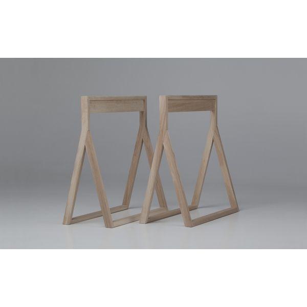 Modernes arbeitszimmer  Tischbeine aus Holz für flexibles Arbeiten im Home-Office ...