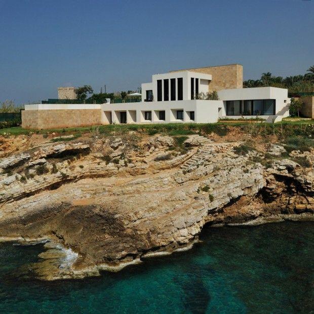 Fidar Beach House par Raëd Abillama Architects Architettura, Case - site pour construire sa maison