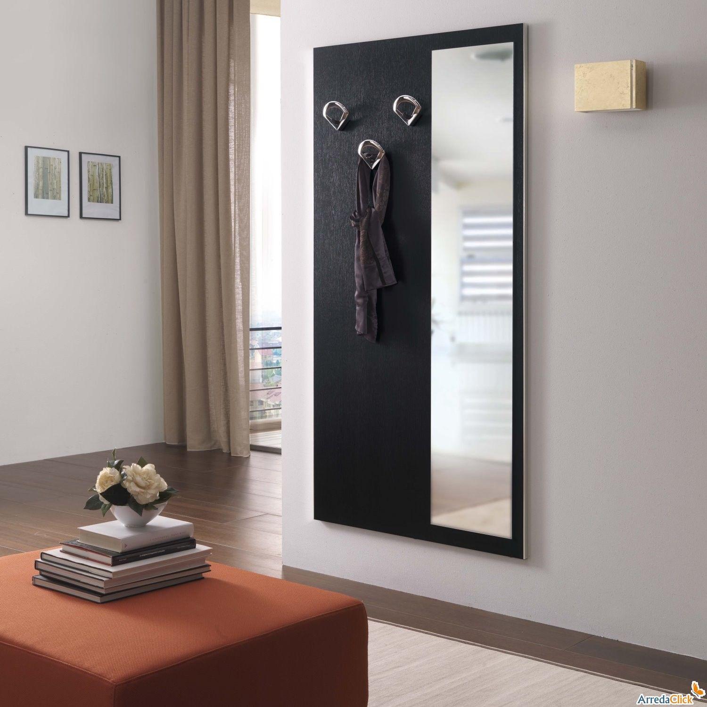 Pannello appendiabiti da ingresso cambridge f10 - Ingresso con specchio ...