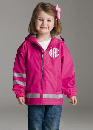 65437e5d4 Toddler s Personalized Monogrammed New England Raincoat by ...