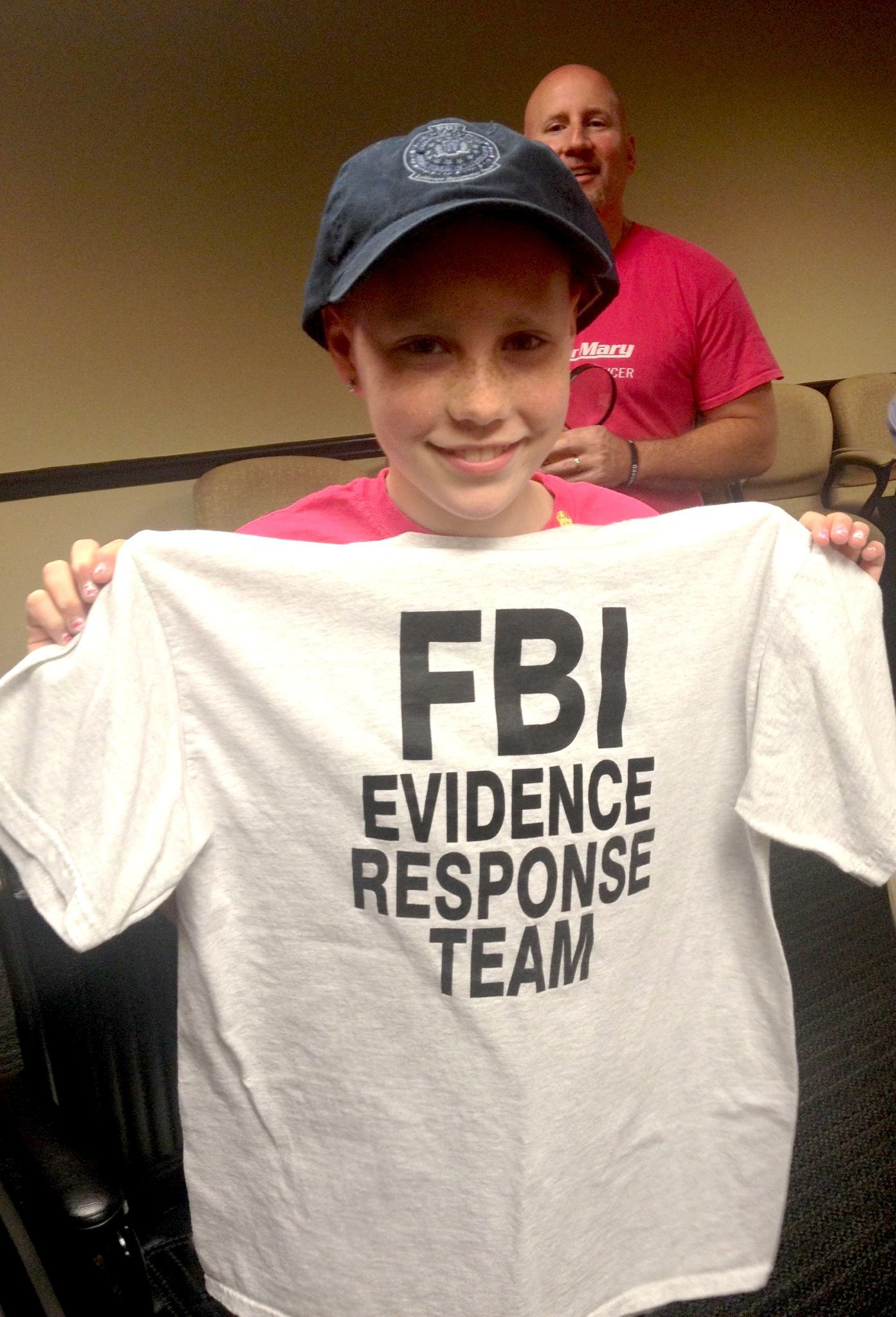 12 Year Old Mary S Dream Came True When She Got To Become A Fbi