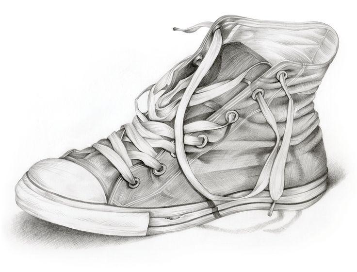 3b69b726a72 Shoe Drawing - Lessons - Tes Teach | Advanced High School Art ...