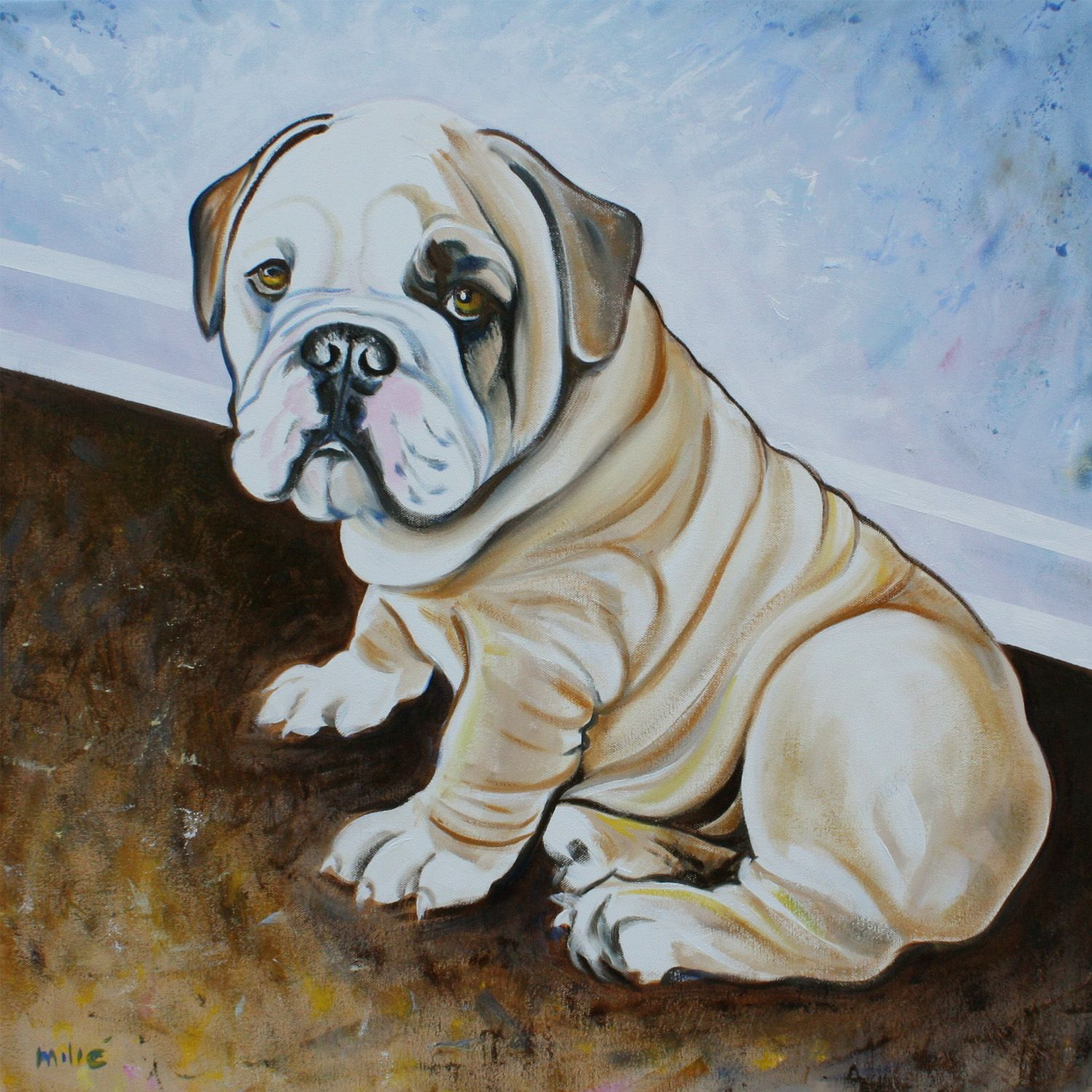 bulldog artwork bulldog art english bulldogs animal and dog 2651