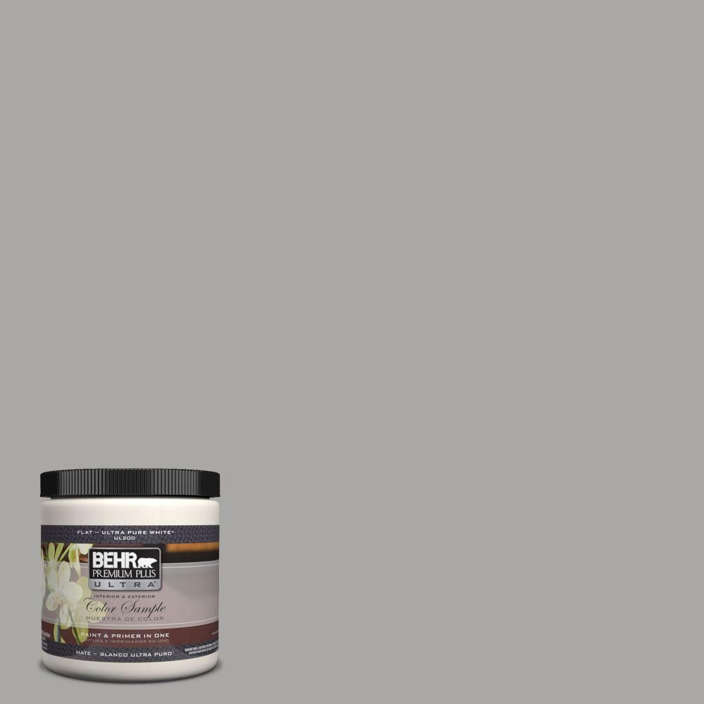 Behr Ultra 8 Oz Ul260 7 Cathedral Gray Matte Interior Exterior Paint And Primer In One Sample Ul20416 Exterior Paint Behr Marquee Paint Behr Paint