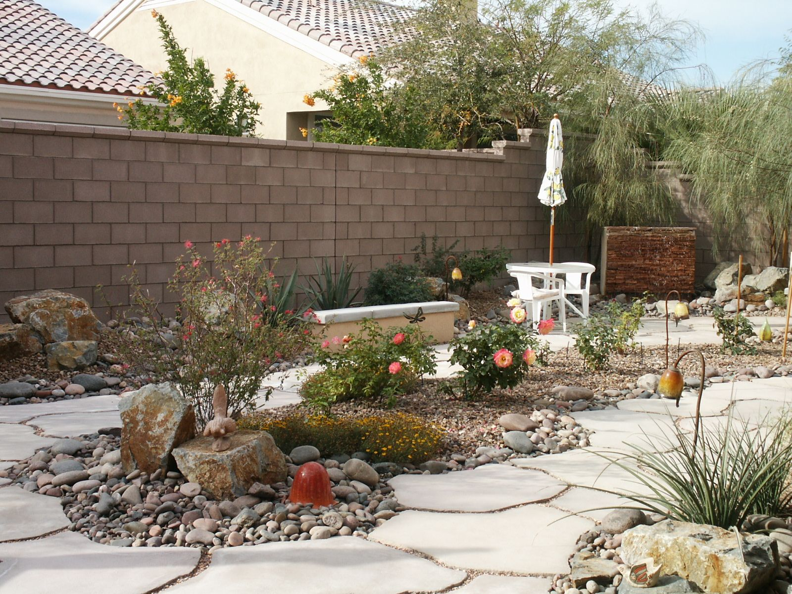Desert Landscaping Rocks For Garden Plants Pinterest