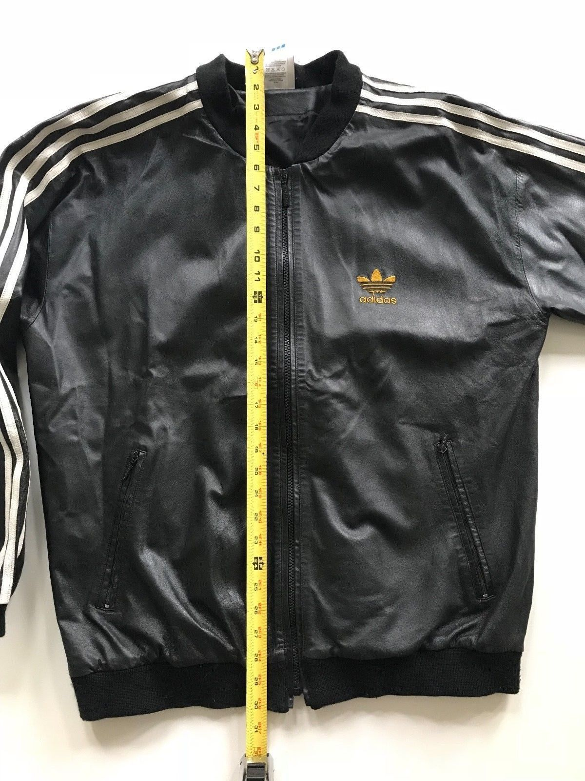 9e8b17cdc5fc ADIDAS MEN S SUPERSTAR LIMITED EDITION RUN DMC LEATHER TRACK SUIT (Size  M)