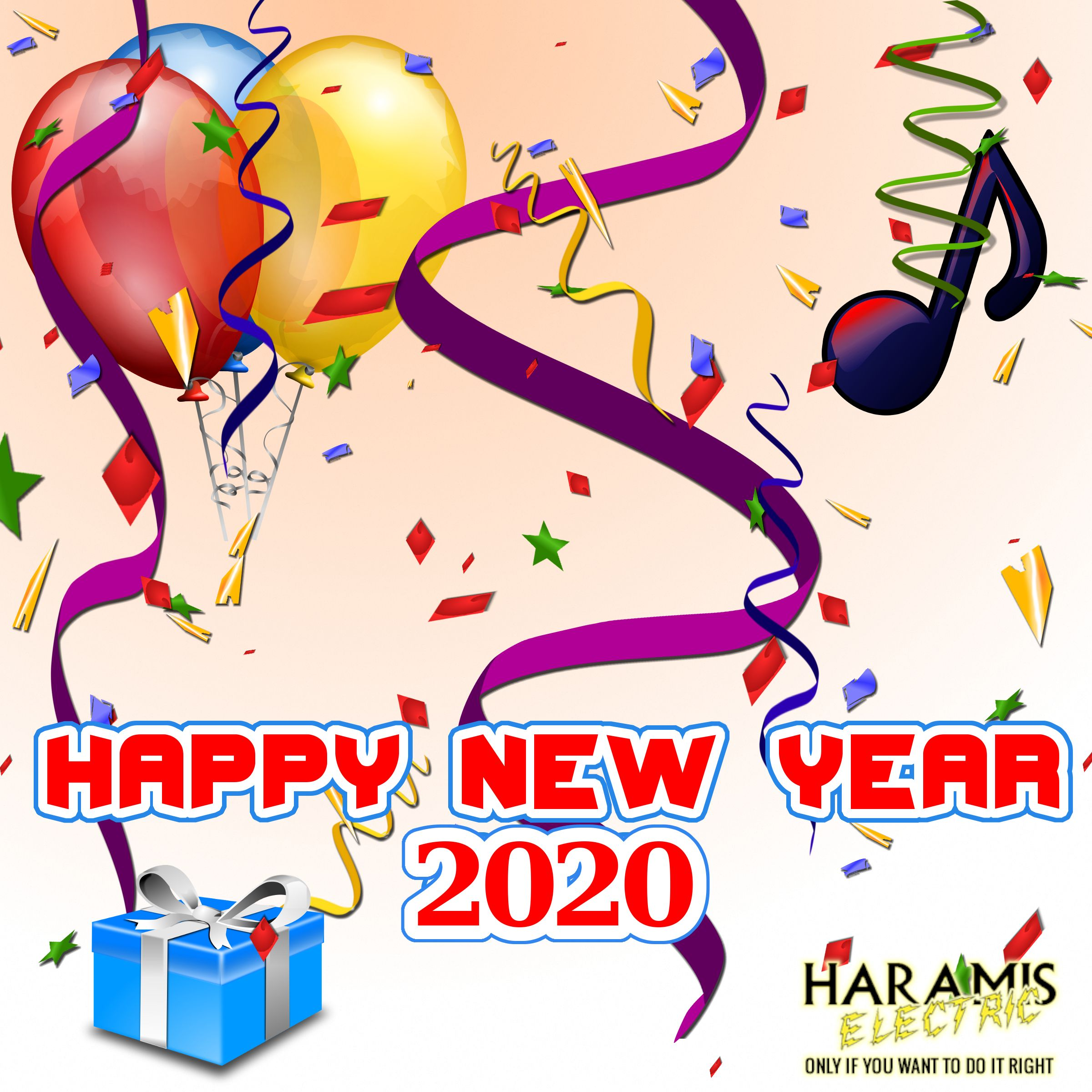 Hope everyone has a great 2020 in 2020 Happy year, Happy