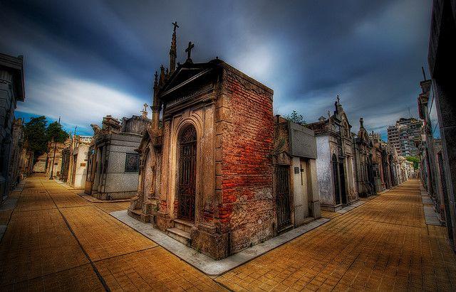 "Buenos Aires, Argentina - La Recoleta Cemetery; the ""City of the Dead""."