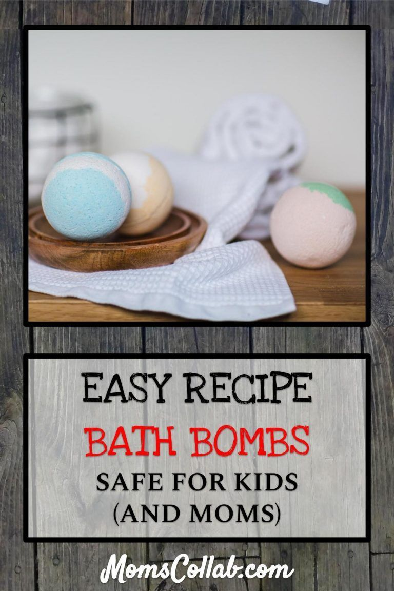 Diy bath bombs for kids and moms in five easy steps