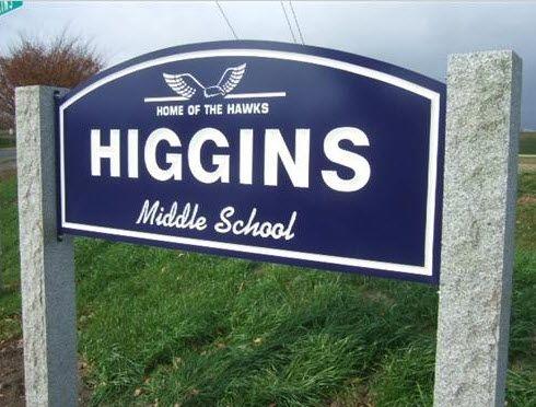 Higgins Middle School in Peabody, MA
