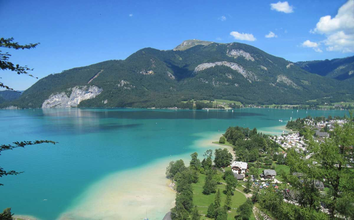 Wolfgangsee, Austria - One of the only places to find a ...