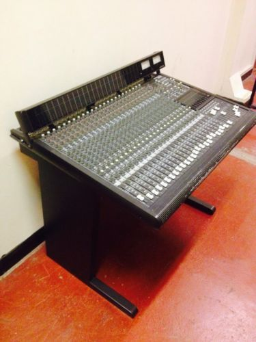 mackie 24 8 mixing desk with stand recording studios desk recording studio ebay. Black Bedroom Furniture Sets. Home Design Ideas