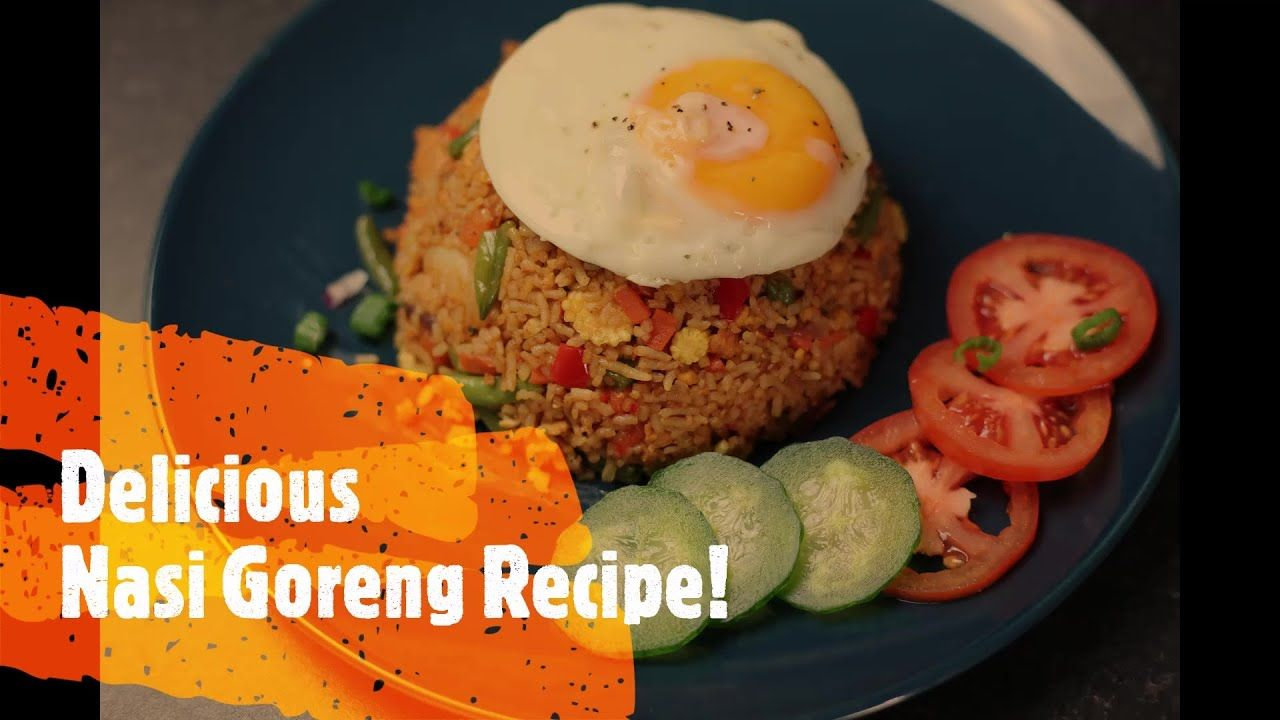 Delicious Nasi Goreng Indonesian Fried Rice Restaurant Style Recipe Indonesian Street Food Yo In 2020 Nasi Goreng Recipe Restaurant Style Recipes Chicken Recipes