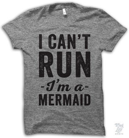 I Can't Run I'm A Mermaid #bed-hair #bed-hair-don't-care #bed-head