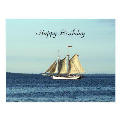 Ship 1521 Birthday Postcard