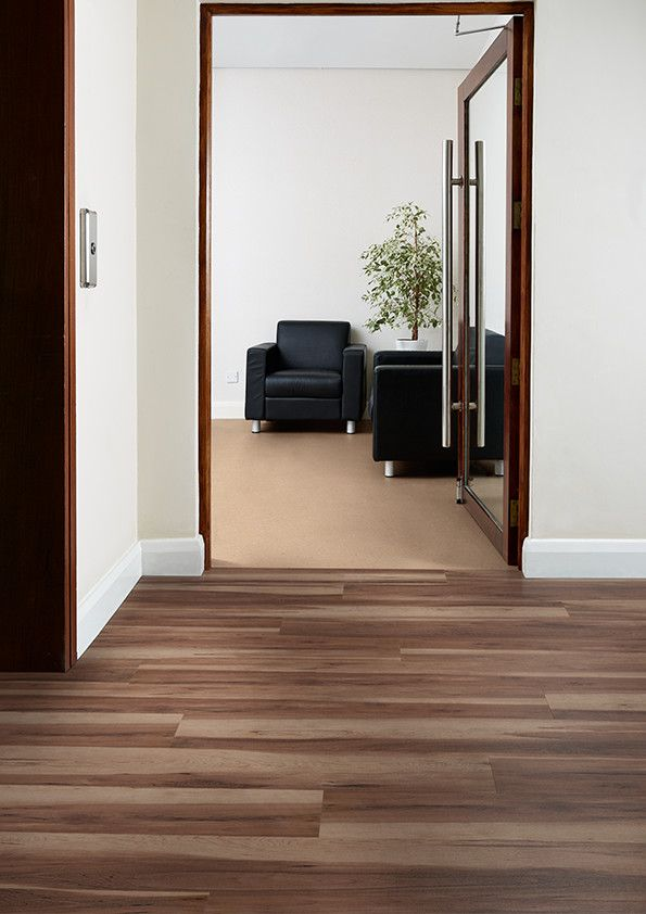 Office and corridor featuring affinity255 luxury vinyl for Floor sheet for office