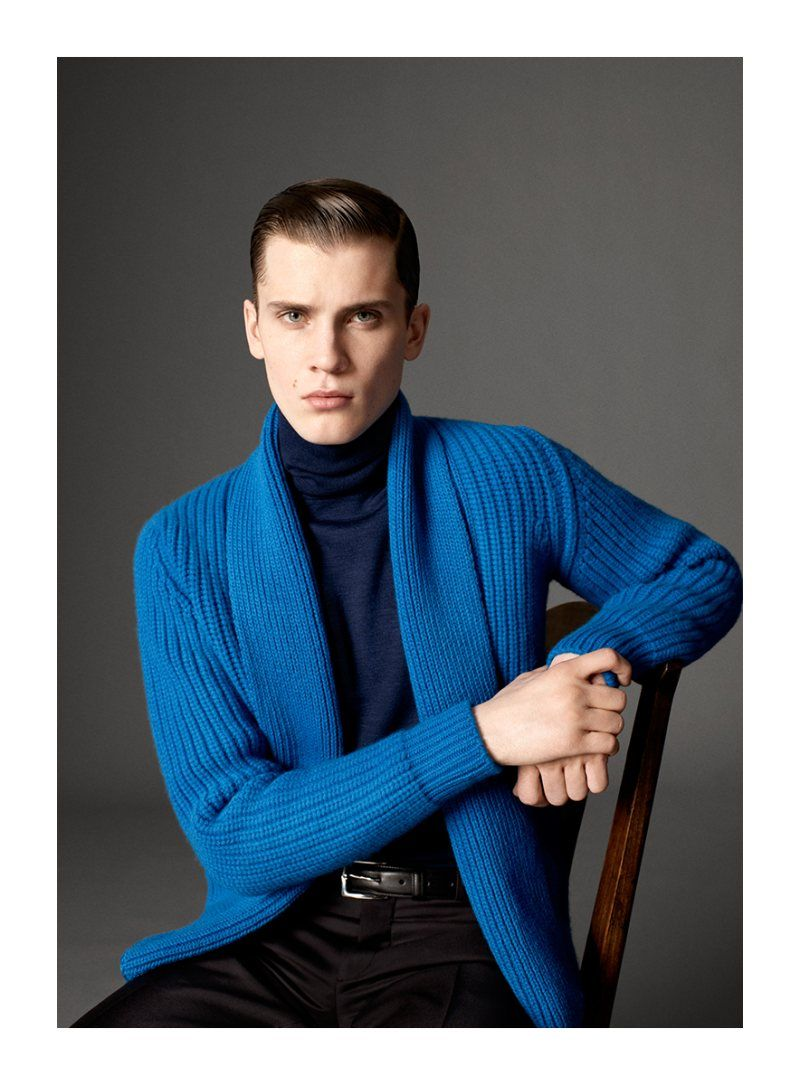 William Eustace by Paul Wetherell for Hardy Amies Fall 2011 Campaign