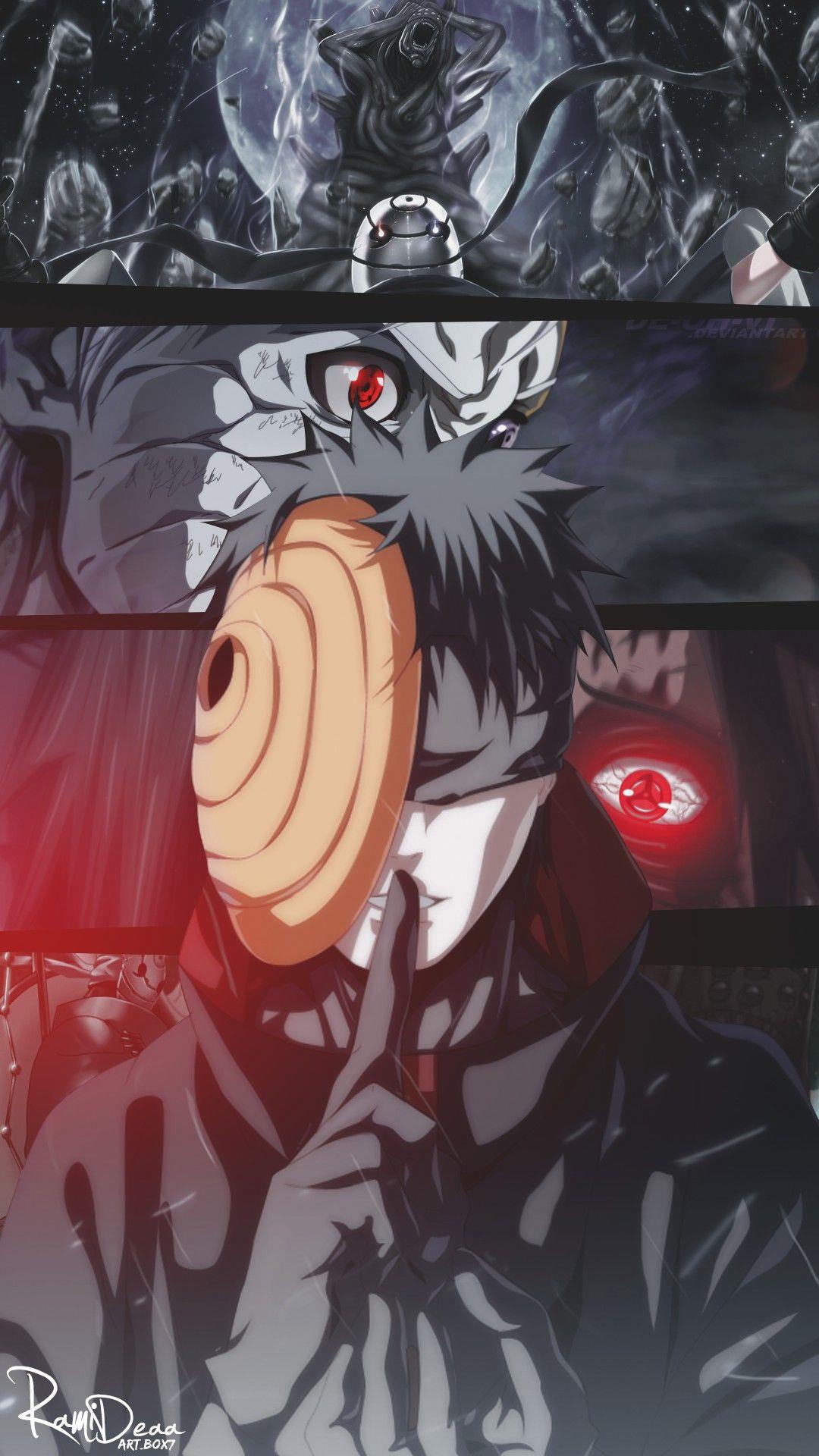 OBITO UCHIHA Wallpaper naruto shippuden, Naruto