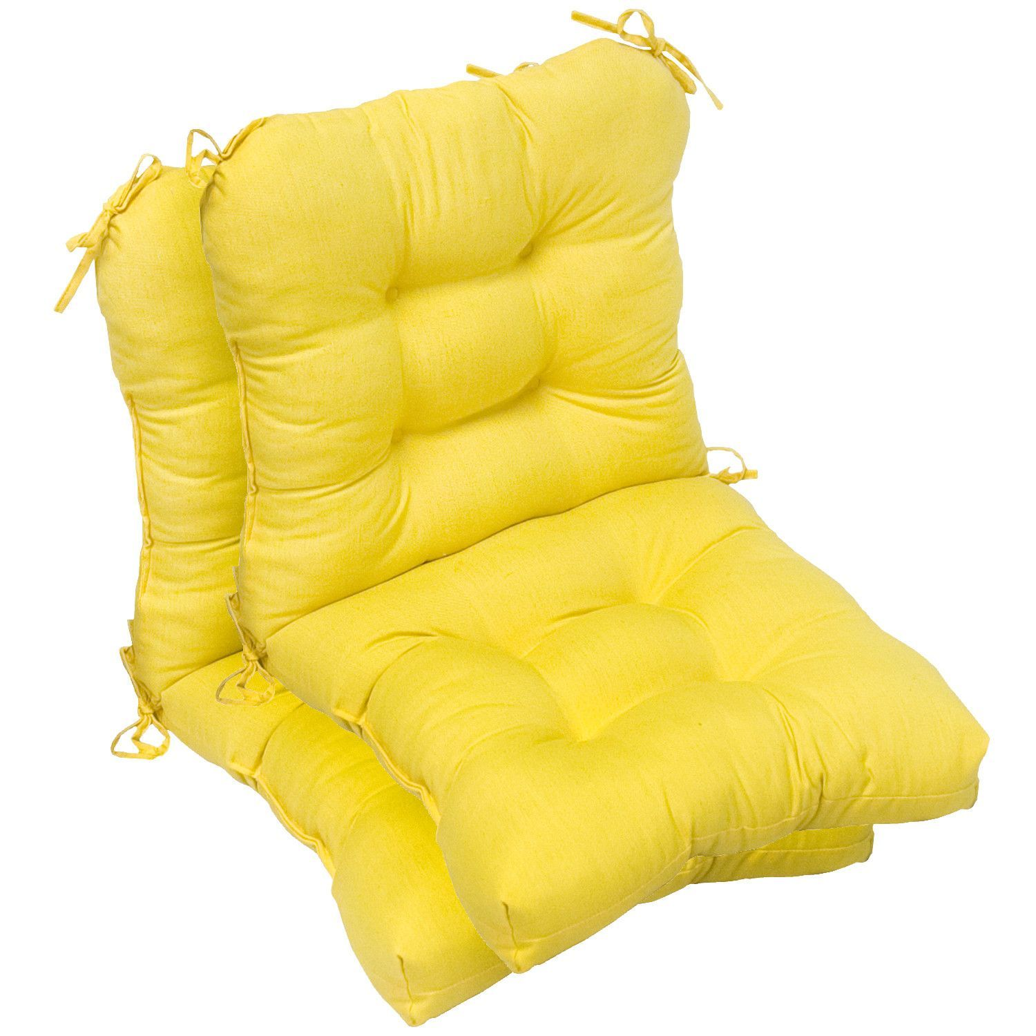 Outdoor chair cushion set of outdoor chair cushions and products