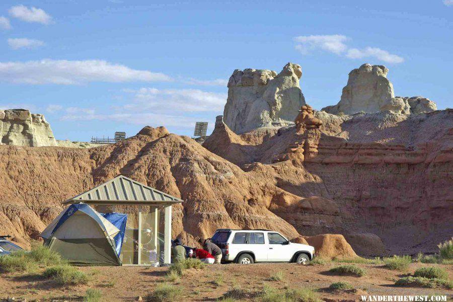Goblin Valley campground UT.